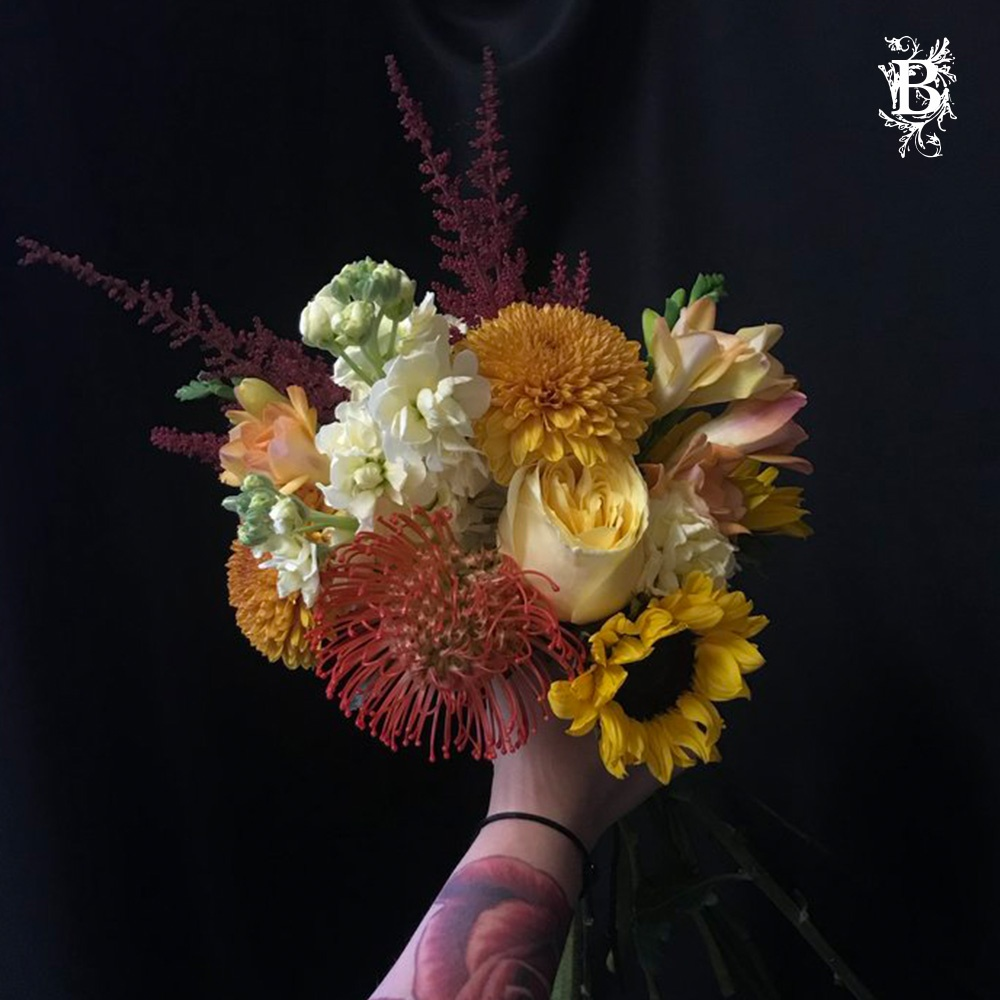 Hand tied flower bouquet flower delivery ny and ct florists ny hand tied flower bouquet izmirmasajfo