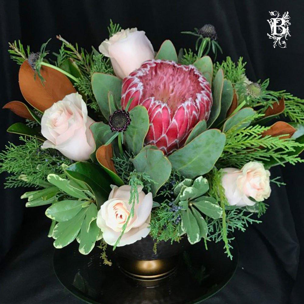 Hydrangea Centerpiece