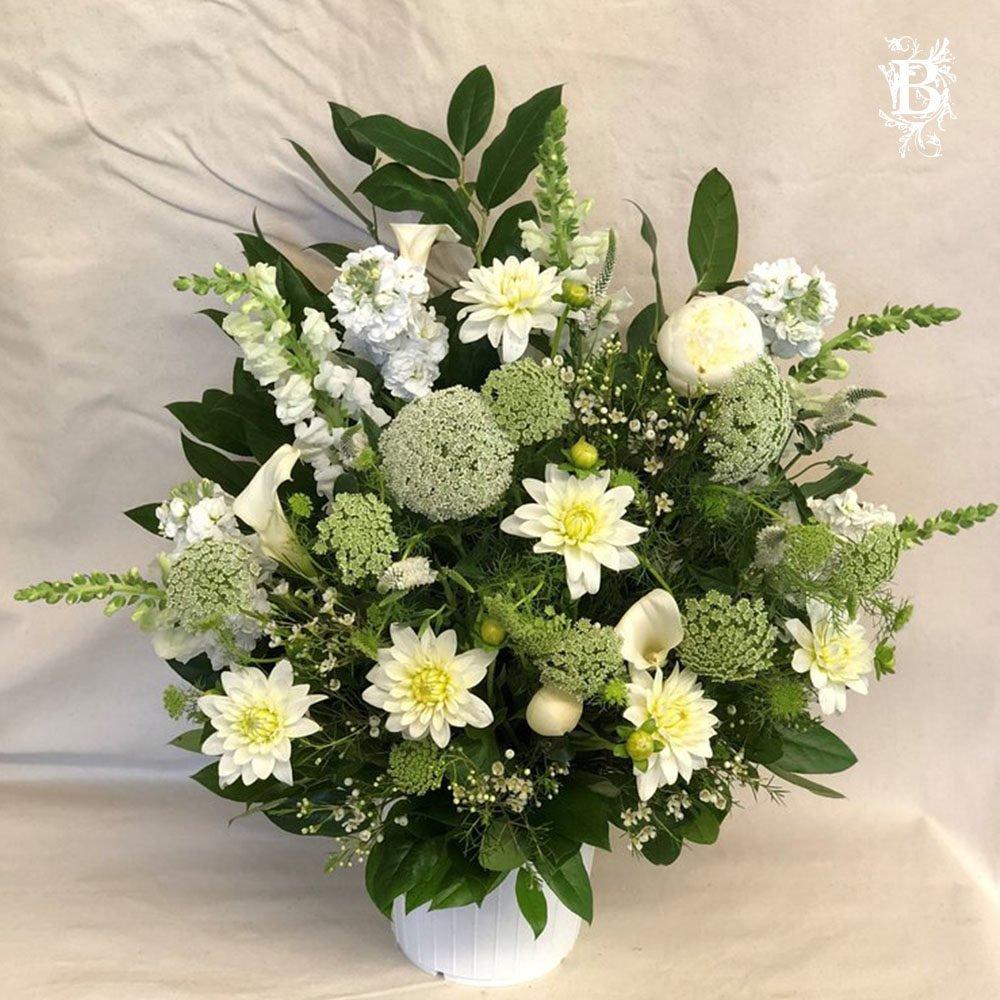 Sympathy Floor Flowers