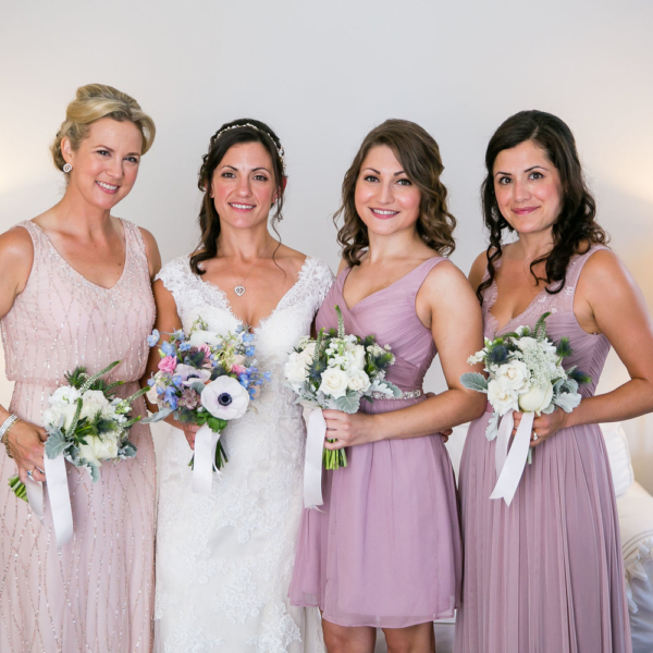 bridesmaid flower bouquets