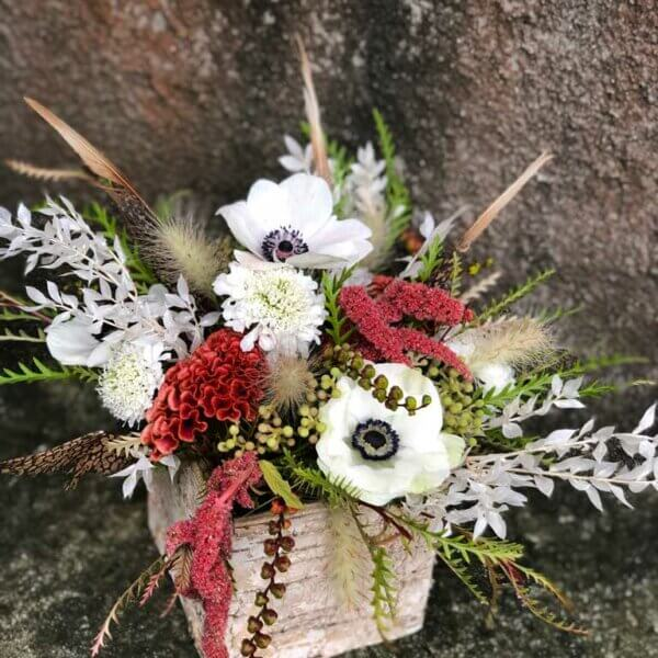 Fall Folliage Floral Centerpiece